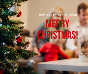 Christmas message to clients